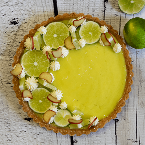 Cottage Cheese Key Lime Flan